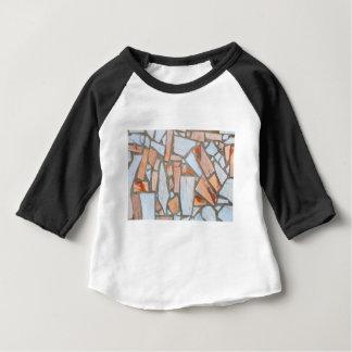 T-shirt Pour Bébé Mur de marbre coloré comme background.JPG