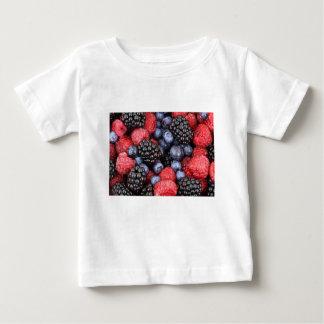 T-shirt Pour Bébé Mûre de baies de Noël
