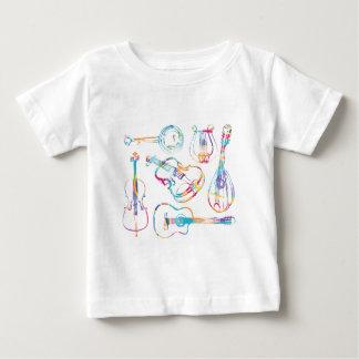 T-shirt Pour Bébé Musicien de ficelle