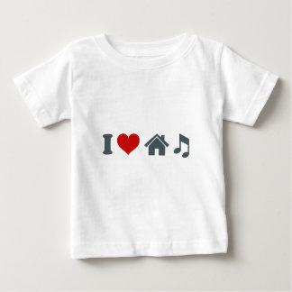 T-shirt Pour Bébé Musique de Chambre d'amour