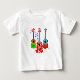 T-shirt Pour Bébé Musique tropicale de joueur d'ukulélé d'île