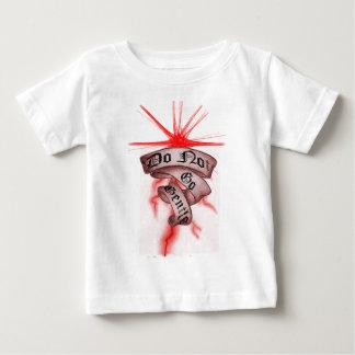T-shirt Pour Bébé N'allez pas doux