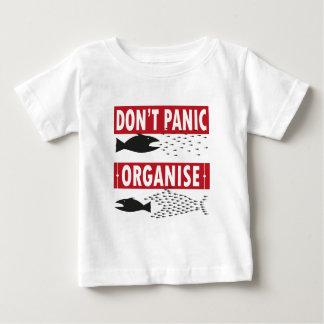 T-shirt Pour Bébé ne paniquez pas