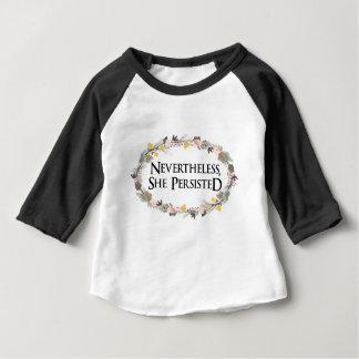 T-shirt Pour Bébé néanmoins elle a persisté