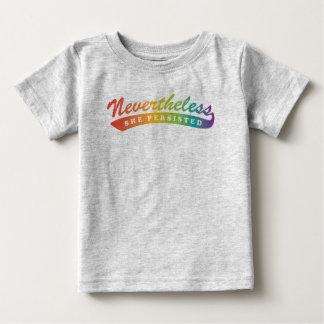 T-shirt Pour Bébé Néanmoins, nous avons résisté