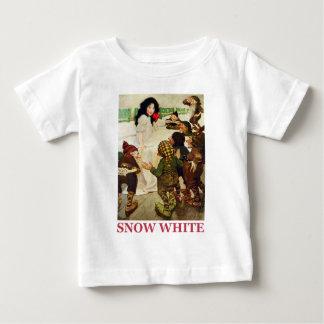 T-shirt Pour Bébé Neige blanche et les sept nains