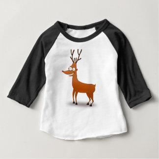 T-shirt Pour Bébé neige d'hiver de vacances de Noël