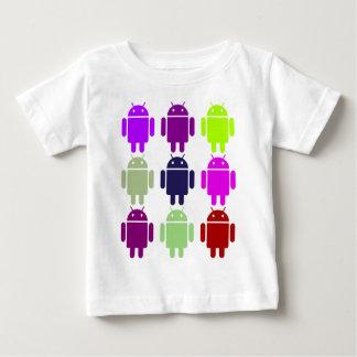 T-shirt Pour Bébé Neuf insecte Droids (couleurs pourpres multiples