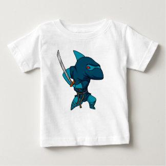 T-shirt Pour Bébé Ninja de requin