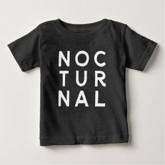 T-shirt Pour Bébé Nocturne