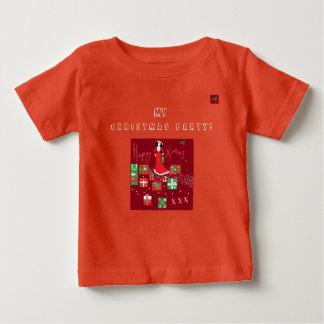 T-shirt Pour Bébé Noël à la mode T/Shirt de concepteur