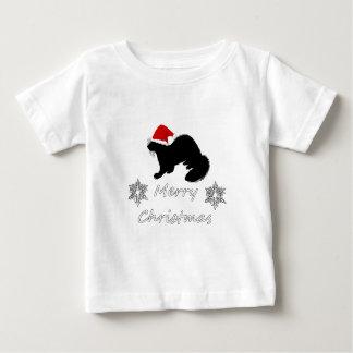 T-shirt Pour Bébé Noël de furet