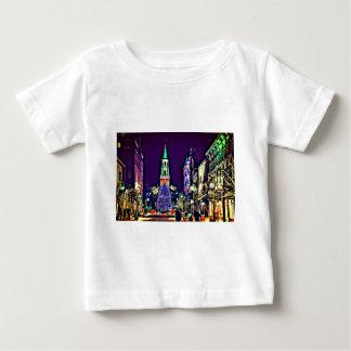 T-shirt Pour Bébé Noël en ville