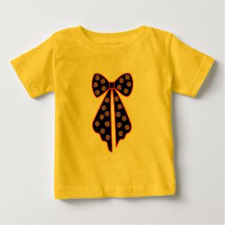 T-shirt Pour Bébé noeud à pois leopard