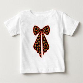 T-shirt Pour Bébé noeud pois leopard