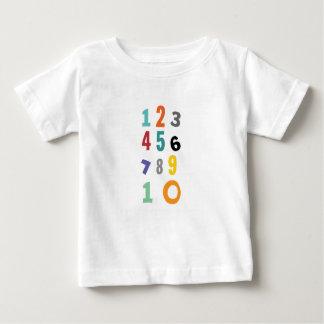 T-shirt Pour Bébé Nombre, nombre de crèche