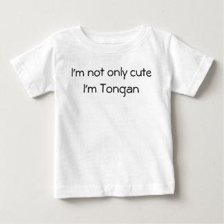 T-shirt Pour Bébé Non seulement chemise tongane mignonne