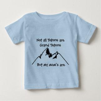 T-shirt Pour Bébé Non tout le Tetons sont Tetons grand, Bu…
