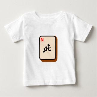 T-shirt Pour Bébé Nord de Mahjong