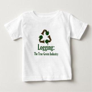 T-shirt Pour Bébé Notation : Industrie verte