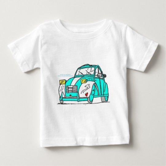 T-shirt Pour Bébé NOTRE DECAPOTABLE DAVID ET THOMAS.png