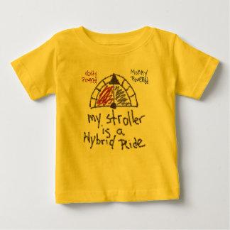 T-shirt Pour Bébé Nourrisson T - Ma poussette est un tour hybride