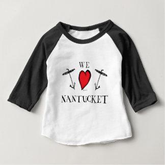 T-shirt Pour Bébé nous aimons le nantucket