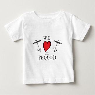 T-shirt Pour Bébé nous aimons le pequod