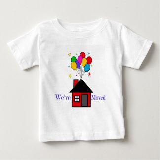 T-shirt Pour Bébé Nous avons déplacé la nouvelle maison