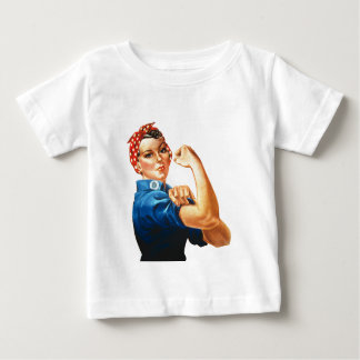 T-shirt Pour Bébé Nous pouvons le faire Rosie que les femmes de