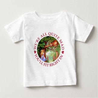 T-shirt Pour Bébé Nous sommes tout le tout à fait fous, vous nous