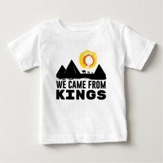 T-shirt Pour Bébé Nous sommes venus des rois