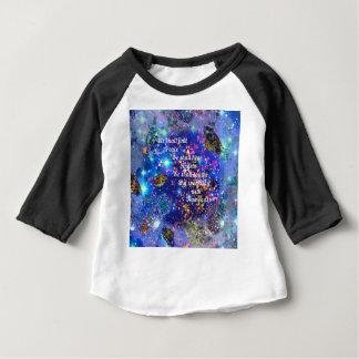 T-shirt Pour Bébé Nous trouverons la paix et entendrons les anges