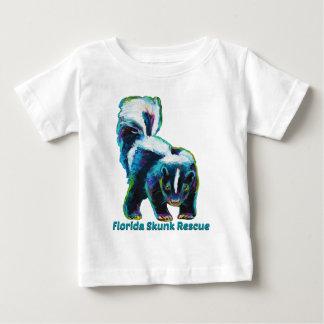 T-shirt Pour Bébé Nouvelle conception de délivrance de mouffette de