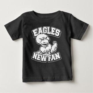 T-shirt Pour Bébé Nouvelle fan d'Eagles