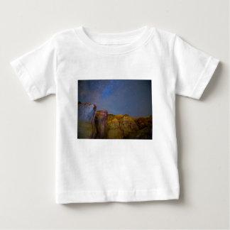 T-shirt Pour Bébé Nuit peinte