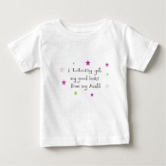 T-shirt Pour Bébé Obtenez totalement mes regards de ma tante