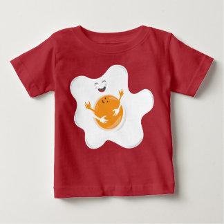 T-shirt Pour Bébé Oeuf heureux