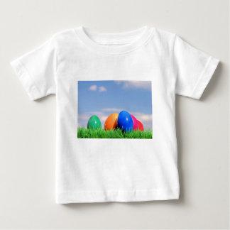 T-shirt Pour Bébé oeufs de pâques