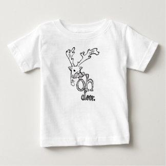 T-shirt Pour Bébé Oh cerfs communs