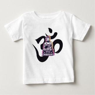 T-shirt Pour Bébé Ohm de Buddah de coucher du soleil