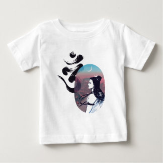 T-shirt Pour Bébé Ohm en hausse de lune