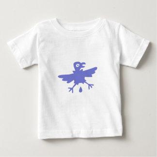 T-shirt Pour Bébé Oiseau Bleu