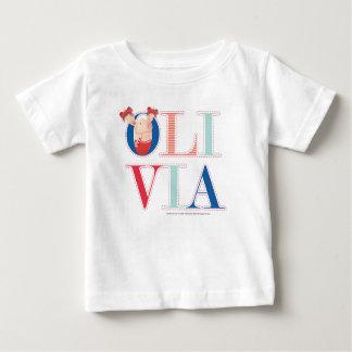 T-shirt Pour Bébé Olivia - 3 2