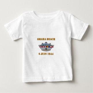 T-shirt Pour Bébé Omaha Beach 1944