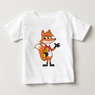 T-shirt Pour Bébé Ondulation de Fox de Rick   Scarlett de garde