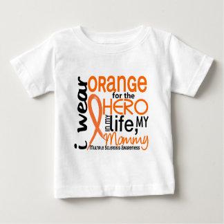 T-shirt Pour Bébé Orange pour la sclérose en plaques de milliseconde