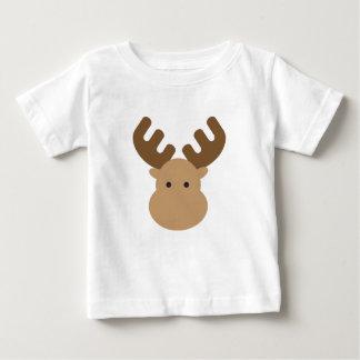 T-shirt Pour Bébé Orignaux