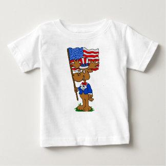 T-shirt Pour Bébé Orignaux de patriote
