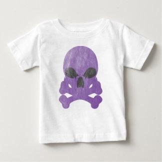 T-shirt Pour Bébé Os de crâne